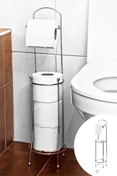 Tohana Yedek Haznelı Çelik Tuvalet Kağıtlığı Renkli